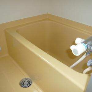 浴室清掃してきました