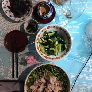 ベランダ菜園の水菜と赤シソで2日連続収穫祭だっ!