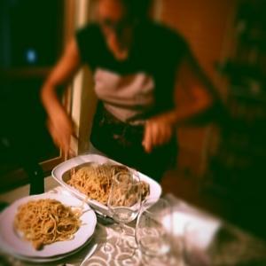 イタリアの晩ごはん、チェーナとチェネッタ
