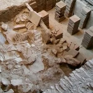 ローマ時代の床暖房システム