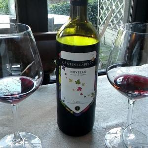 イタリアの今年の新酒ノヴェッロを飲んだ!
