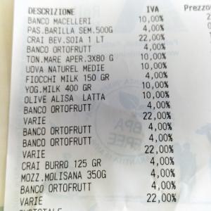 イタリアの付加価値税をチェックしたら牛乳がカオスでした