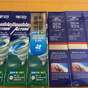 韓国の歯磨き粉