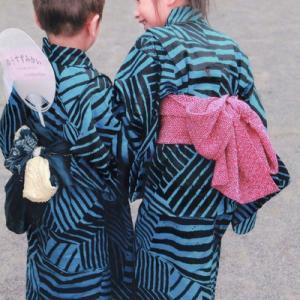 一反から二着作る子供の浴衣