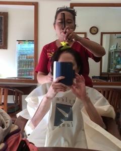 バリ島のカリスマ美容師さん
