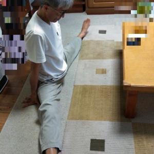 男性で足が180度開脚ってすごくない!?