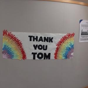 トムさんに敬意。ルミナスも努力を!
