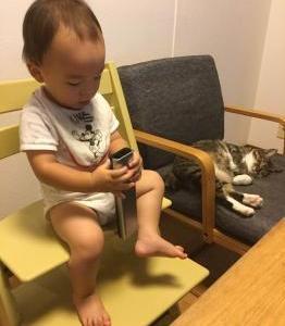 息子@1歳4ヶ月