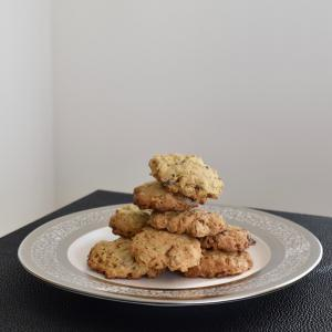 Oatmeal, Pecan, Chocolate Chip Cookies