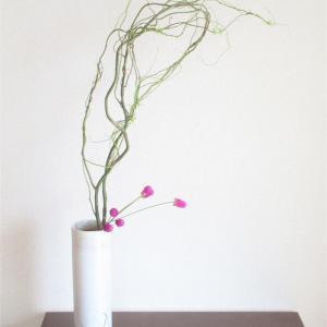 むすめの花材で、わたしも「植物を編む」