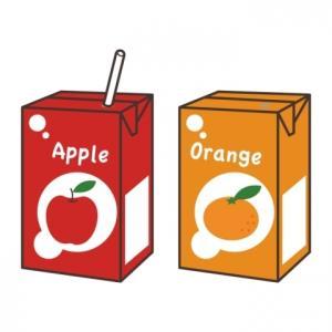 果汁ジュースのパッケージの謎