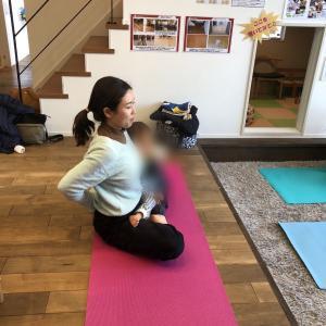 【開催報告】 Kumiko先生 産後ヨガ 川越子育ちサークルふあふあ 10期  3回目