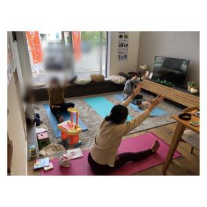 【開催報告】 】 Kumiko先生 産後ヨガ 子育ちサークルふあふあ