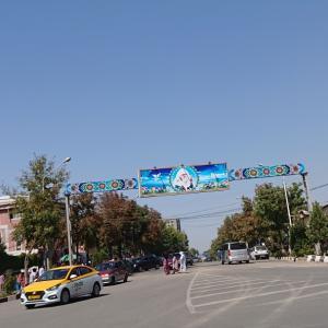 ドゥシャンベ郊外のヒサールへ到着《タジキスタン旅行記⑫》