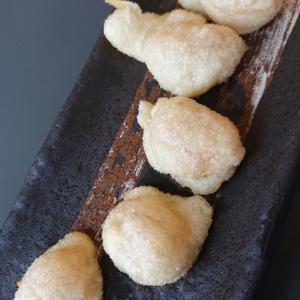 お気に入りは白花豆の天婦羅!北海道でチリを思い出す