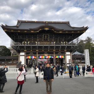 初詣と姉夫婦の古希祝い(^ ^)