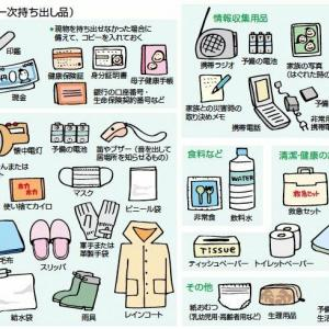 北海道大震災をみて思う、今後必要なアイテム