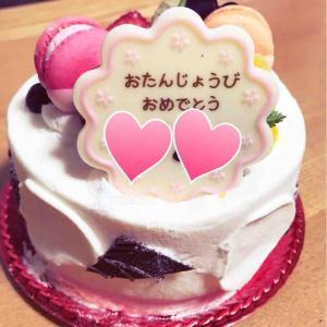 誕生日を友だちにお祝いしてもらいました。