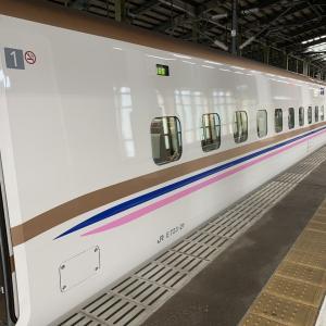 E7系限定デザイン@上越新幹線