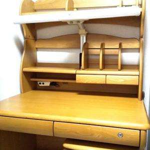 ひとり暮らしの準備■学習机・本棚の整理
