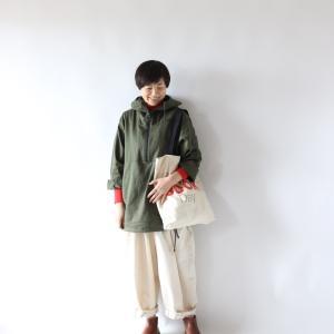 暮らしのコスパ服★ワークマン綿アノラックパーカーを着てみました。