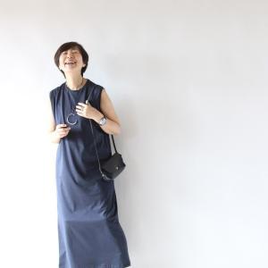 今日のコーデ★お出かけにピッタリなATONタンクトップドレス。