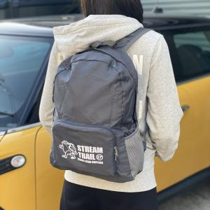 New STREAMTRAIL FOLDABLE BACKPACK(エコリュック)