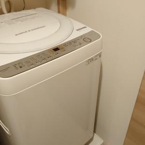 楽天で買った新しい洗濯機はSHARPの縦型