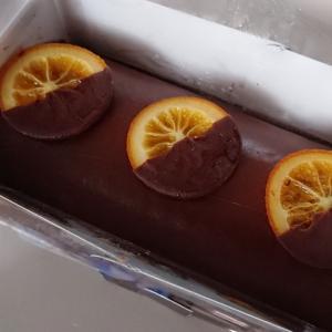 今年のバレンタインはチョコレートケーキ
