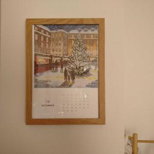 12月のカレンダーと来年のカレンダーが届きました
