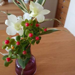 ポストに届くお花