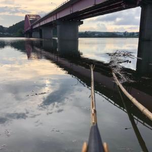 7/13 増水で釣れた。
