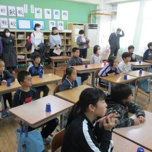 中郷中学校区教育を考える会~本校公開授業~