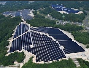 全山丸坊主にする「環境にやさしい?」太陽光発電とは