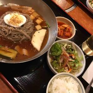 扶餘(プヨ)で冷麺(2019.8.25日)