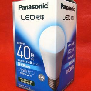 Panasonic LED電球 LDA4D-H/E/W E26口金 485ルーメン 4.4W 昼白色
