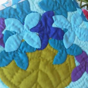 ハワイアンな紫陽花♪
