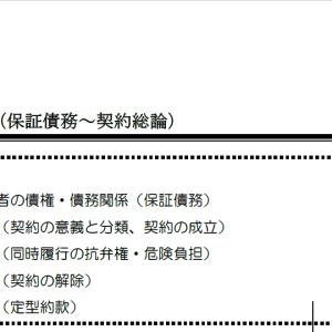【レジュメハイライト】民法第12回