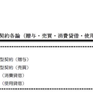 【レジュメハイライト】民法第13回