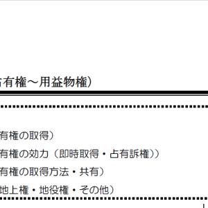 【レジュメハイライト】民法第6回