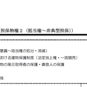 【レジュメハイライト】民法第8回