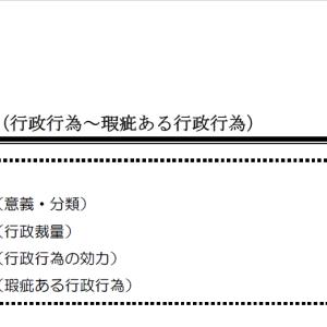 【レジュメハイライト】行政法第2回