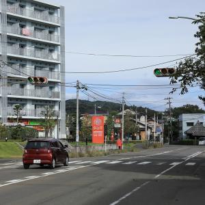 川内亀岡の信号機
