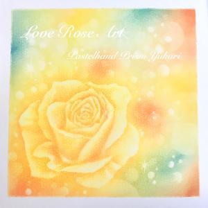 【慈しみのばらアート】シルクの花びらが描きたい