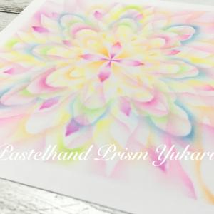 【結晶の花®︎】透花バリエ再受講しました❗️驚きの描き方にやはり釘付け♡