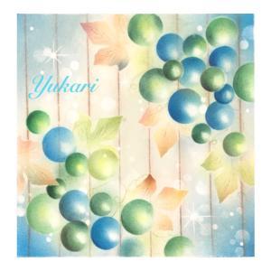 IKUKOさん図案『葡萄』 お洒落で艶々に描けます♡