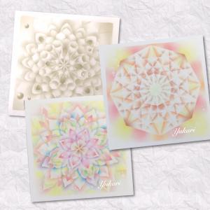 【結晶の花®︎透花バリエ】私が『結晶の花®︎」を学び始めたきっかけのアート♡