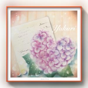 Prismオリジナルアート新作できました♡『紫陽花便り』