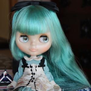 アリス服でティータイム@ひなまつり