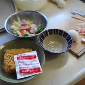 ヤキソバ+スープ